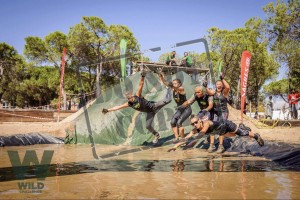 "Wild Challenge ""Inferno"" obstacle race, a photographic a"